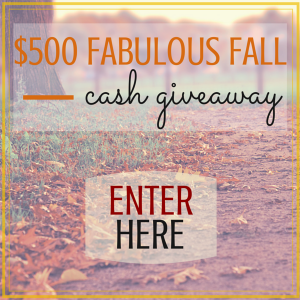 giveaway, cash, contest, fall