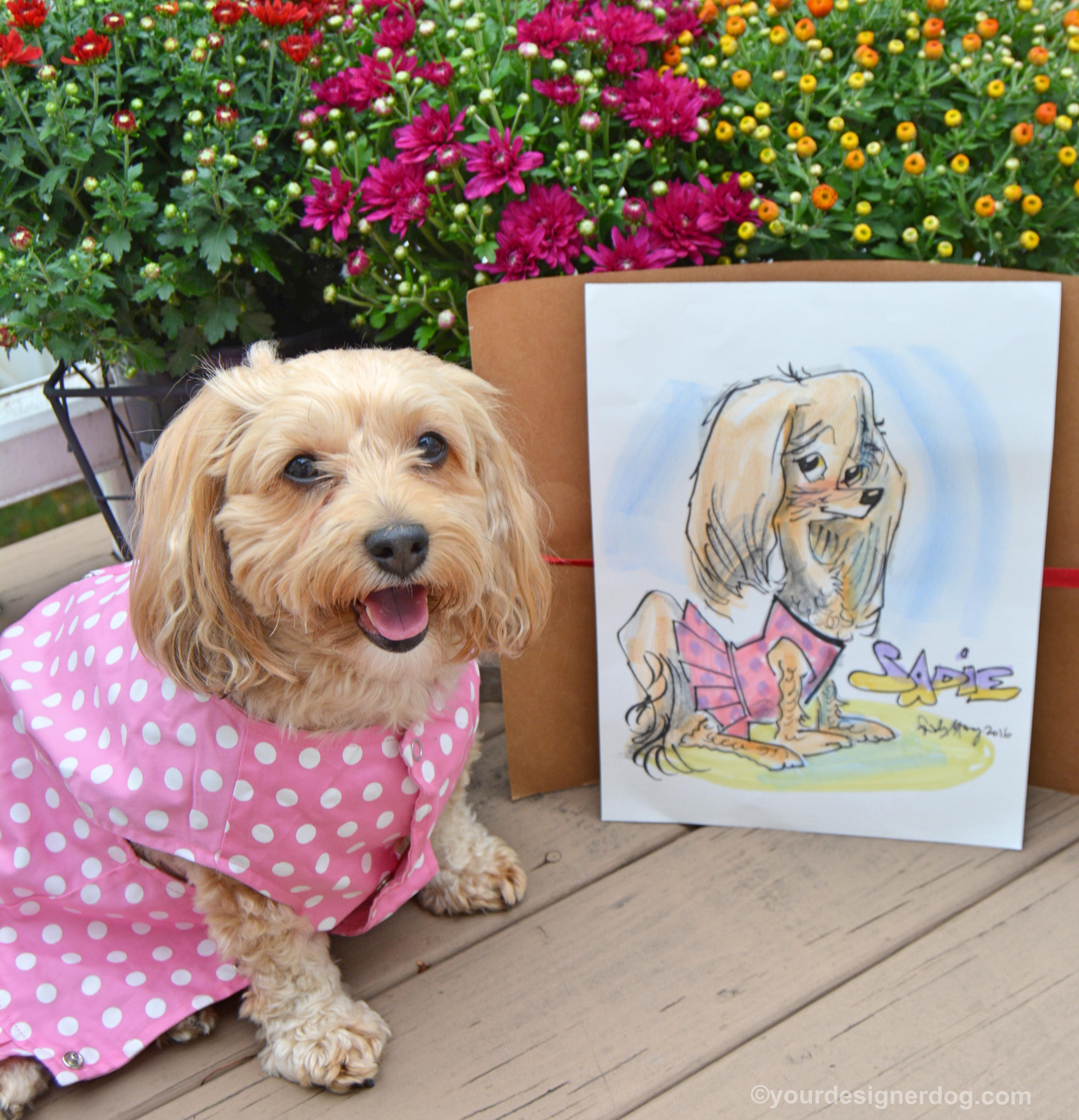 Sadie's First Caricature